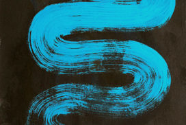naga, snake, line, brush, mark, blue, turquoise