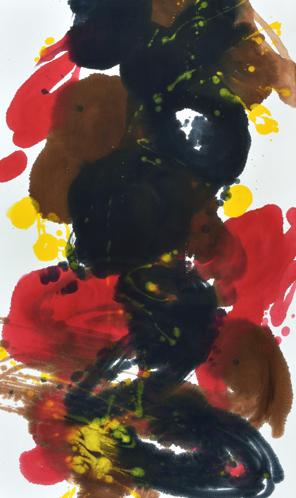 color and form, dots, circles, Christmas, colors, Abstract Expressionism, light, helen frankenthaler, joy