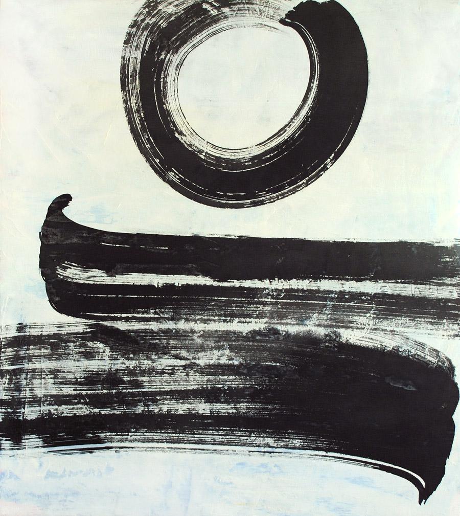 line work, brush, momentum, force, energy, black and white, zen, minimalism