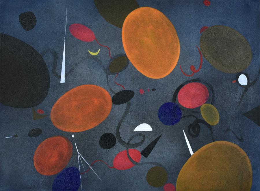 dot, forms, shape, symbol, color, space, joy, Klee, Miro, Surrealism,