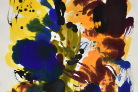kinetics, movement, energy, color and form, marks, Naga, Myth, energy, four seasons, time and space, color field, brush, joy, colors, Abstract Expressionism, light, navy, joy