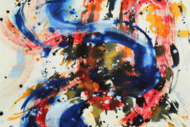 abstract expressionism brush works