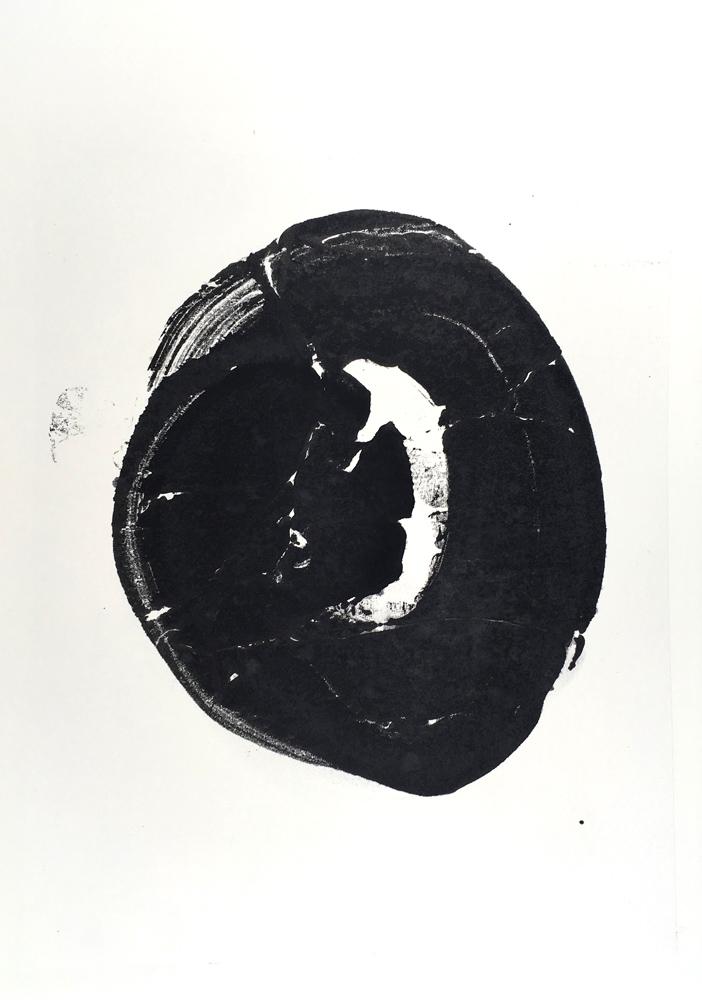 symbol, dot, circle, zen, black and white, origin, big bang
