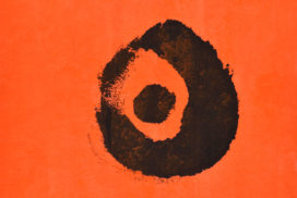 dots, dot, conversation, minimalism, orange, black,