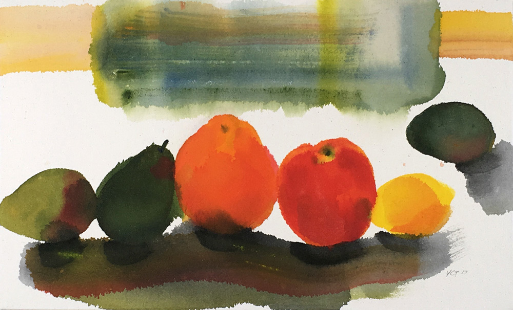 still life, fruit, modern motif, minimal, design, Morandi, Matisse, colors