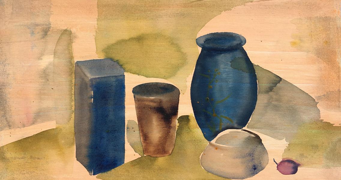 still life, Morandi, space, composition, Cezanne