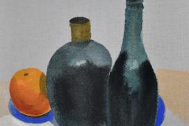 Morandi, Cezanne, still life, minimalism, gray, tranquility, color field